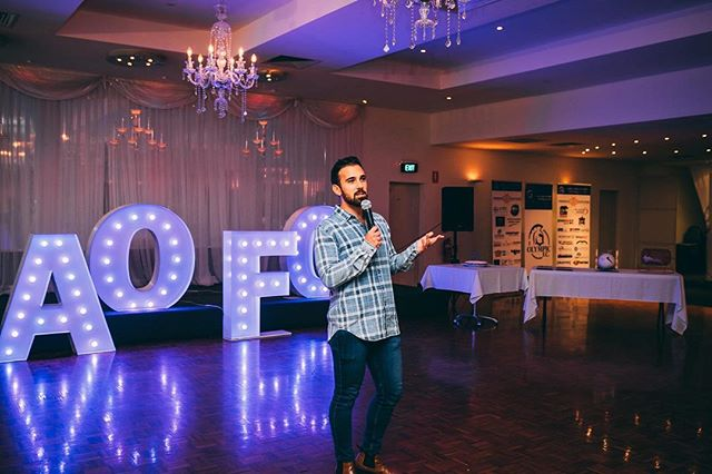 Pre-season launch for @adelaideolympicfc , I was the least ethnic person in attendance 😎🎤⚽️ #standupcomedy #standupcomedian #comedian #comedy #adelaidecomedy