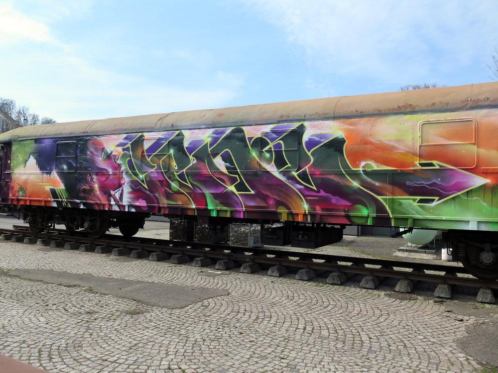Molotow train, Germany, 2017