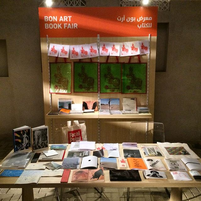 Ready for tomorrow! 📚📚 the first installment of FOCAL POINT, the art book fair organized by the Sharjah Art Foundation (SAF). From 8 to 10 November #focalpointsharjah #sharjahart