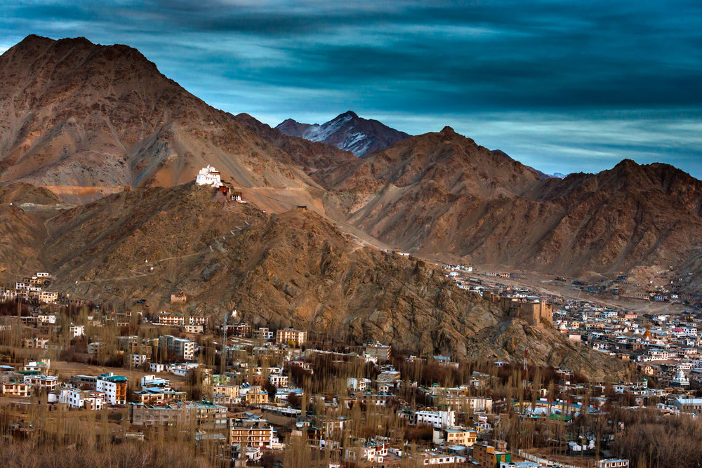 Leh Town from the Vantage Point