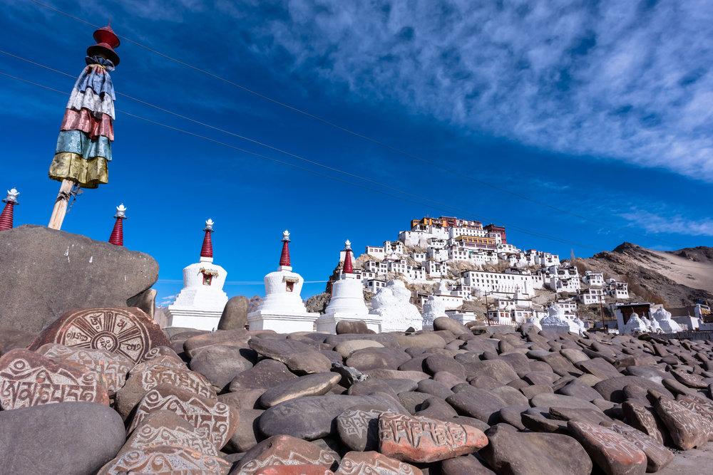 Thikse Monastery , Leh , Jammu and Kashmir
