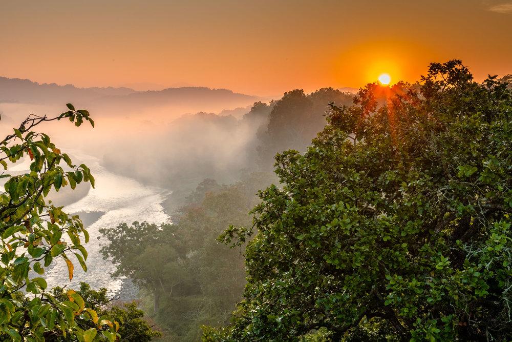 Sunrise from Machan