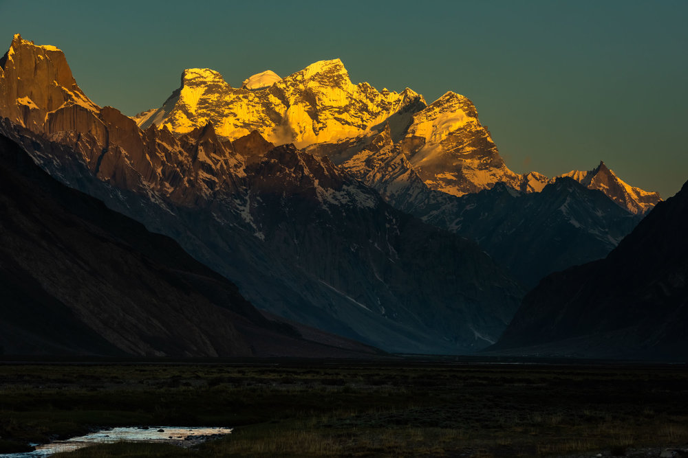 Golden Sunset at Rangdum
