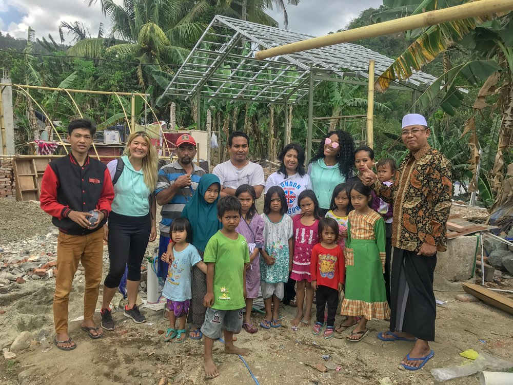 The Whole Experience Gives Back to Lombok, Indonesia after a series of earthquakes hit this village hard.