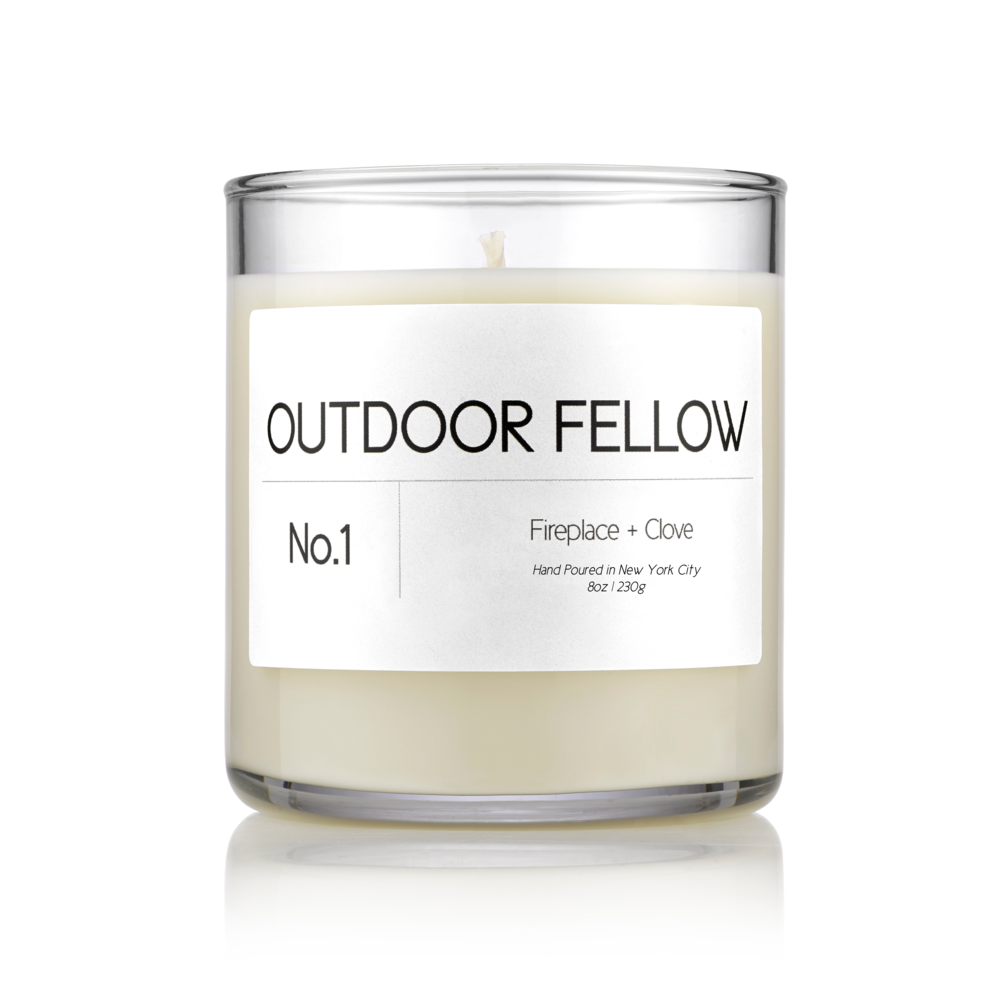The perfect candle. - Hand poured with soy wax and essential oils along with a clean design makes Outdoor Fellow ideal for any setting.
