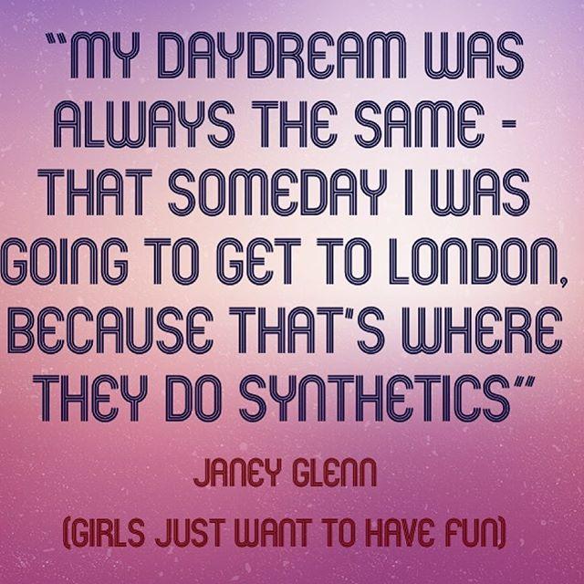 Janey Glenn speaks Gospel ✨🙏🏽💕 ..... #girlsjustwanttohavefunmovie #girlsjustwanttohavefun ... @sarahjessicaparker in the high cut leo years 💋 #wearesynthetics #theultimate80sworkoutexperience