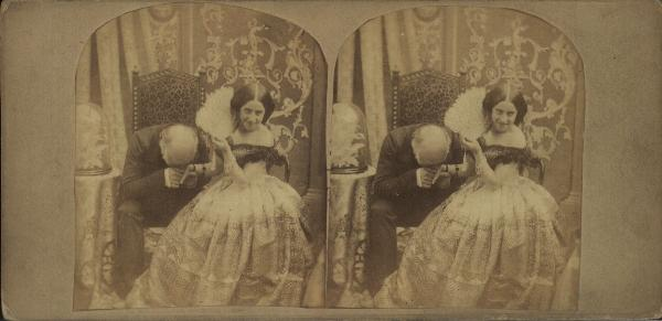 Stereoscopic photograph & stereograph, 1851-1860, from the Manchester City Galleries