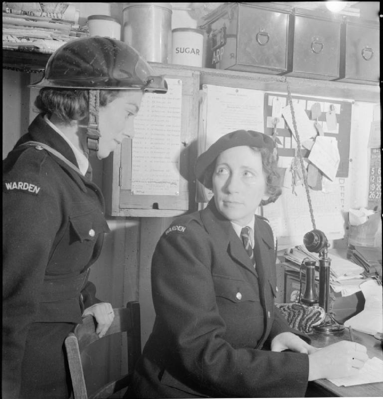 All-in War Worker- Everyday Life For Mrs M Hasler, Barnes, Surrey, 1942, courtesy of the Imperial War Museum