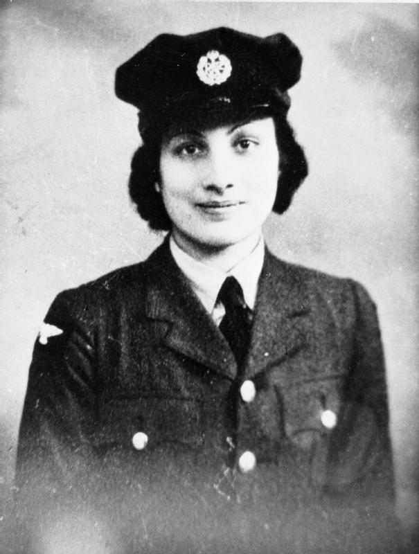 Hon. Assistant Section Officer Noor Inayat Khan (code name Madeleine), courtesy of the Imperial War Museum
