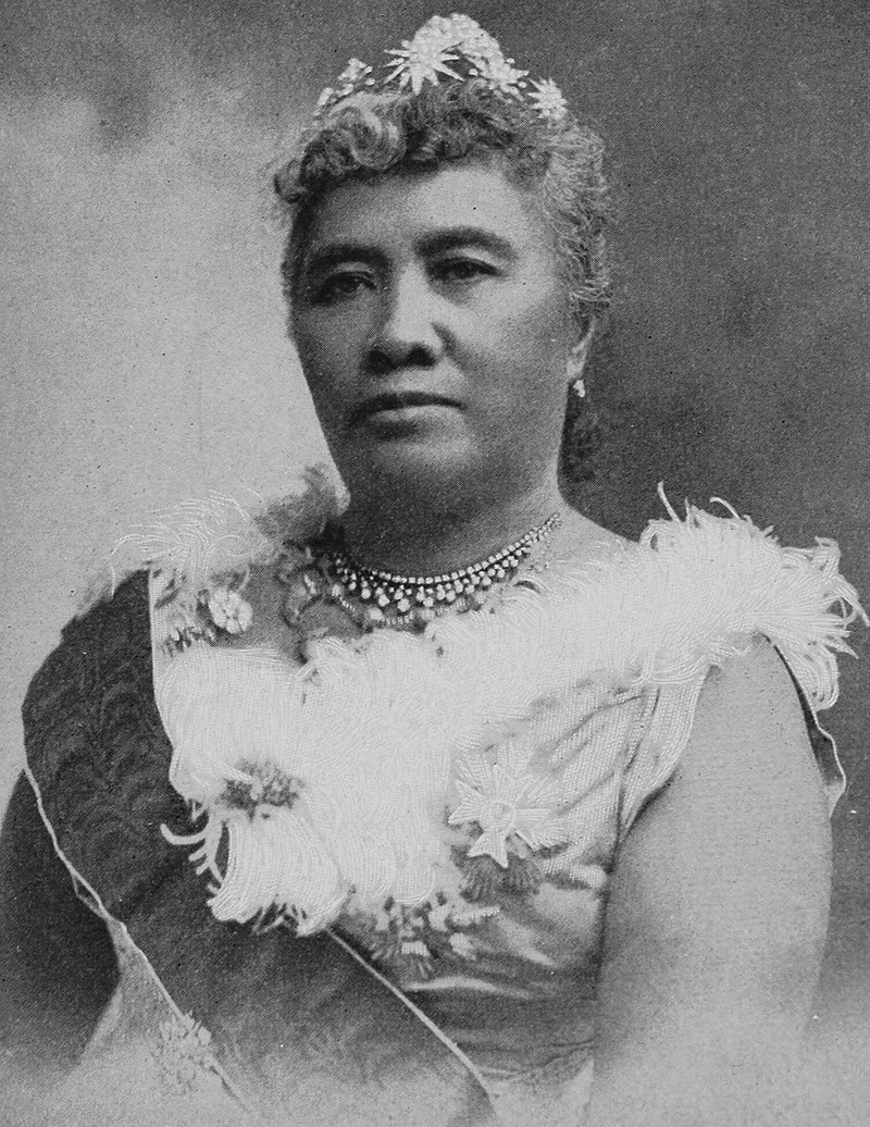 Lili'uokalani, the first queen regent of Hawaii and last sovereign of Hawaii