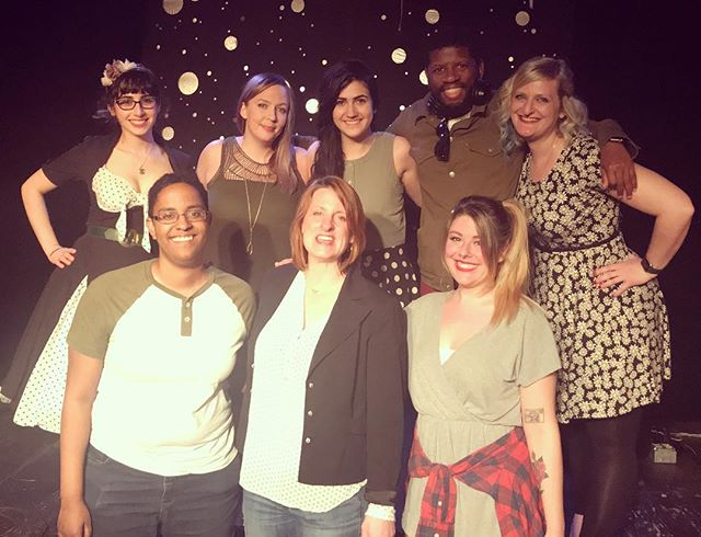 we rounded out the month of March with a killer show to celebrate @eyesupherecom turning 3! thank you to our packed room at @the_pinhook!! follow these comics: @deb_aronin @jpinely @llqj206 @coreyfreeman @mimi.shankin @thegoldenbison @erinsobright & @eyesupherecom for MORE!