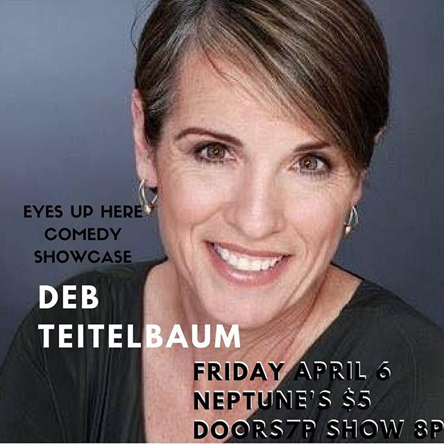 By day, Deb is Dr. Teitelbaum, mild-mannered education consultant and professional smart person, but at night she can usually be found on her living room couch under several rescue animals, watching Law & Order reruns. @neptunesparlour @deborahteitelbaum  #eyesupherecom