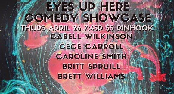 THURS APRIL 26!  @cabell_wilkinson @brittomart @cececarroll @carolin3smith @bretcetera hosted by @erinsobright