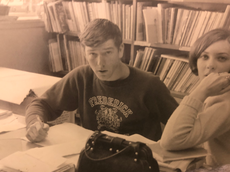 "This picture is of me when I was 17 years old; I was tutoring even then (I remember it was Algebra). I will admit that once I left school, I moved away from tutoring for a while but when I came back to get my degree at community college at age 48, I found math had mostly left my head and I had to start all over again.  I went to all my daughter's friends and ask ""What techniques are you using to get straight As?"" and happily they shared their tricks and tips with me so that now I can share them with my students.  I got my AA in 7 months, my BA in another 1 year and applied to and eventually got accepted into a graduate program, got my MA in Clinical Psychology in 2 ½ more years and moved to the College of Education to get my PhD in a math based research program.  I've been tutoring in my spare time while teaching various math and research classes in university.  I work with all ages and all levels (normal, AP, and IP) tutoring math, pre-algebra, algebra, geometry, trigonometry, Pre-calculus, calculus I & 2 and statistics.  Ask my students what they think of my style."