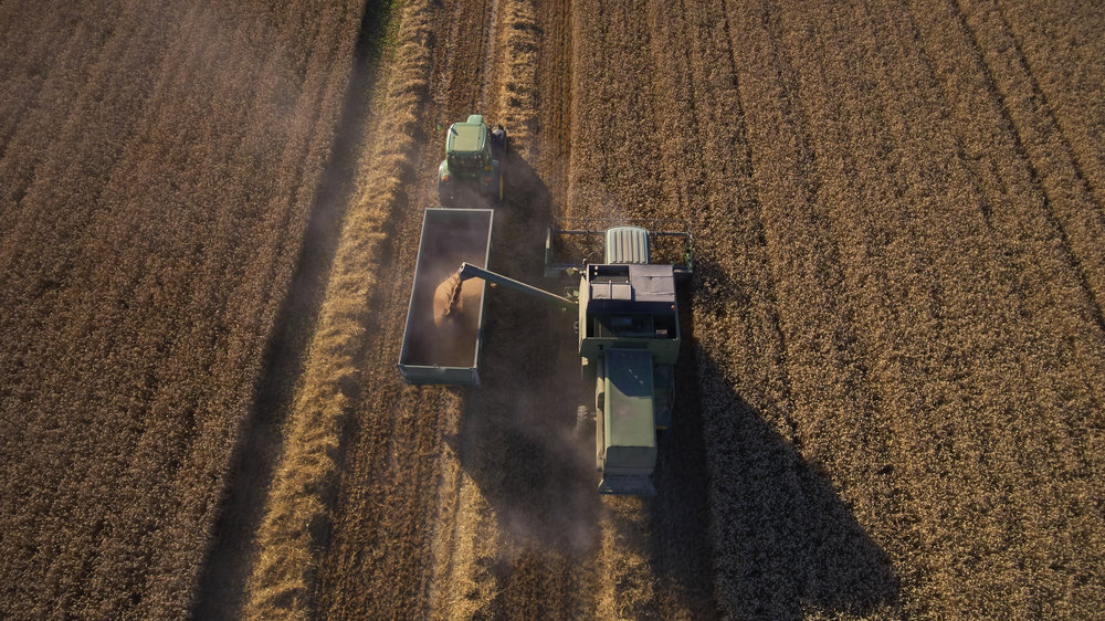 aerial-view-as-tractor-collects-wheat-from-PSTJD9V.jpg