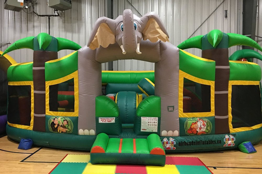 Jungle Play Center - 26 x 16 x 12 ft