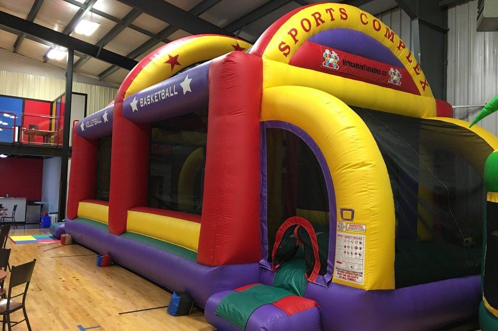 Sports Complex - 40 x 18 x 18 ft