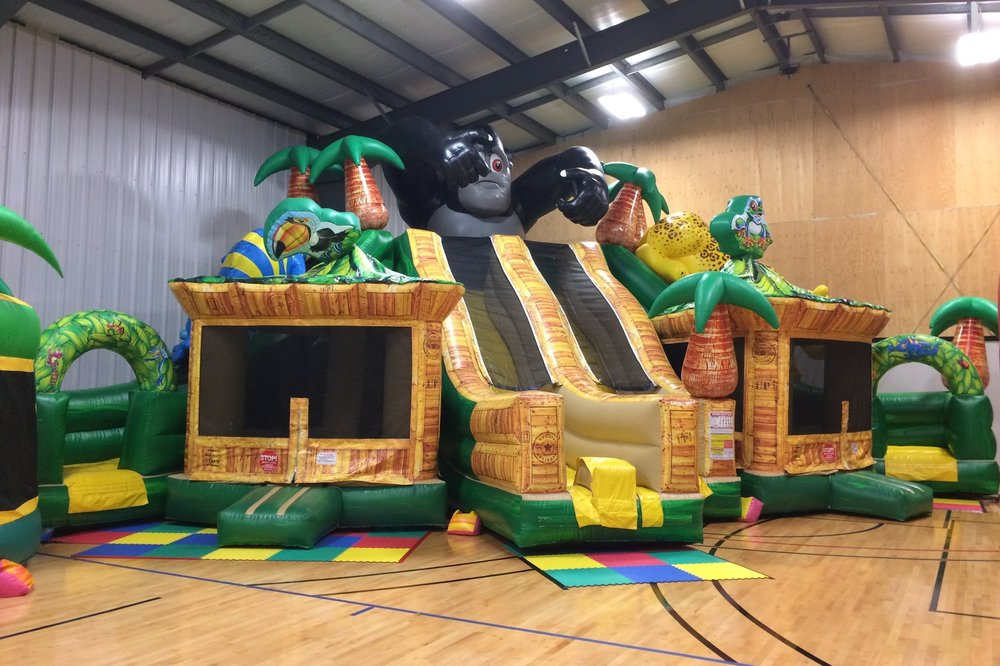 Jungle Triple Slide - 48 x 28 x 20 ft