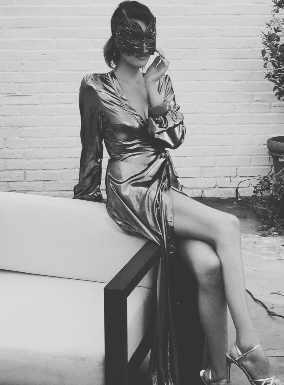silver lame dress w: mask cropped3.jpg