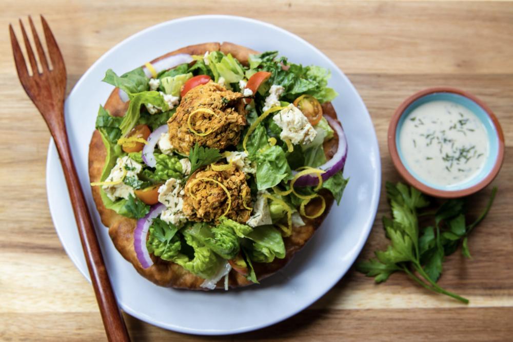 Pita Bowl Falafel Salad