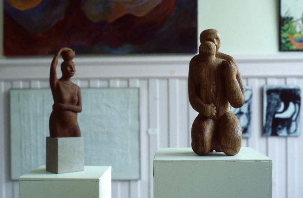 In Situ, Exhibition Photo  Parkdale Artists, 1990