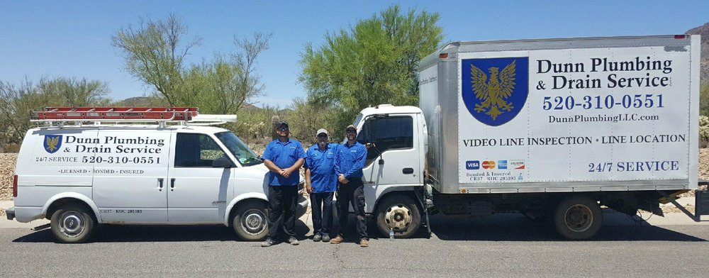 Why choose us? - Brian, Alex and Michael Dunn established Dunn Plumbing & Drain Service, LLC in 2013. Since then, they have grown into one of Tucson's most experienced and dependable plumbing companies. Whether you're a business or a homeowner, our reliable team will get the job