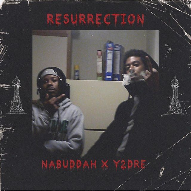 New Track On SOUNDCLOUD w/ @nabuddah 💪🏾💪🏾🔥cover by @lifeofdrill . . . . #newmusic #chicago #undergroundhiphop #gangshit #squad #artists #middlefinger #ressurection #messiah #christ #jesus #soundcloud #aesthetic #collab #link #inbio #click #heat #doa #fucktrump