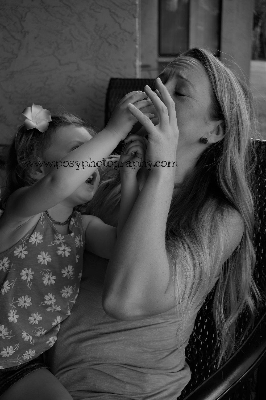Silly kids - family photo fun - Portrait