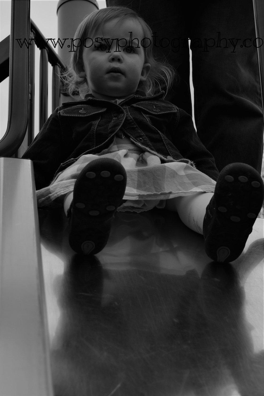 Portrait - Sweetness sliding into life - kid photography, Vancouver Island, BC