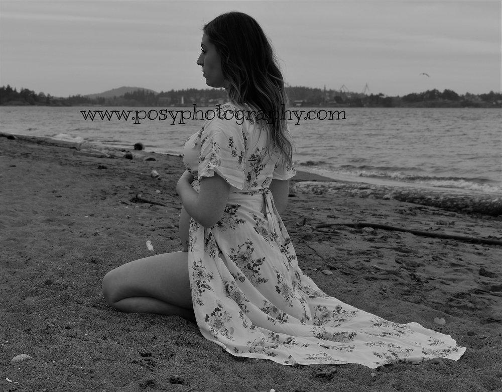 Maternity portrait, Victoria, BC