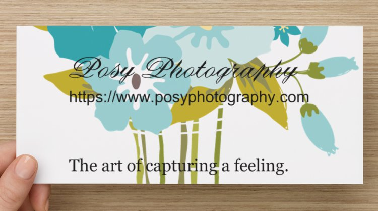 Belinda J. Posy Photography - gift certificates available.