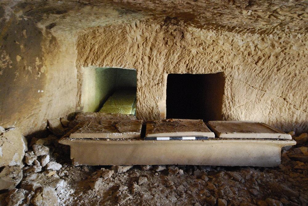 Roman Sarcophagus in Western Galilee.