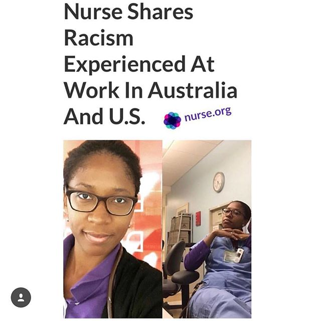 The most important article I've written. @awanderingjama.i.can shares her story with us at @nurse_org and describes her experiences with the injustices that happen in the patient-practitioner relationship. Thank you lovely lady for your presence and strength. Read the article at @nurse_org!