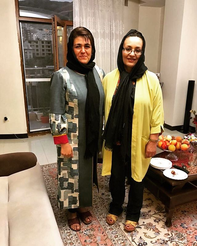 Las hermanas llegaron a Irán! #allthepersianrugs