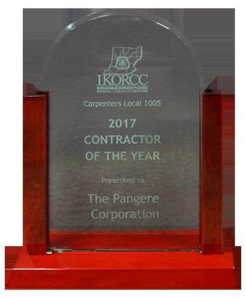 2017 IKORCC award given to Pangere