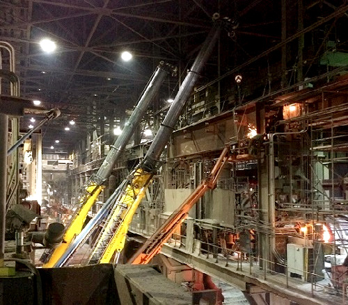 ArcelorMittal Burns Harbor Girder Replacement Project