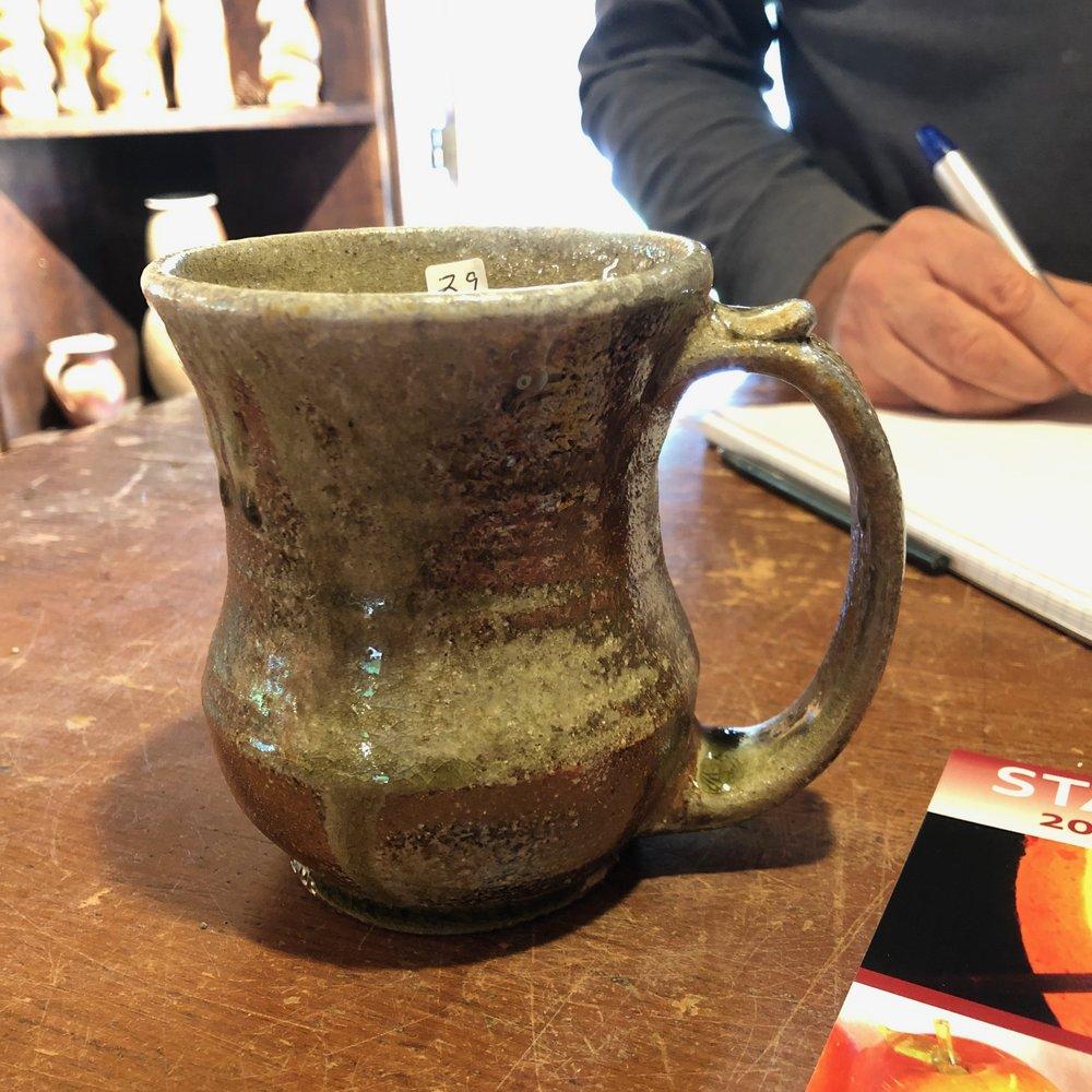 A wood fired mug I bought