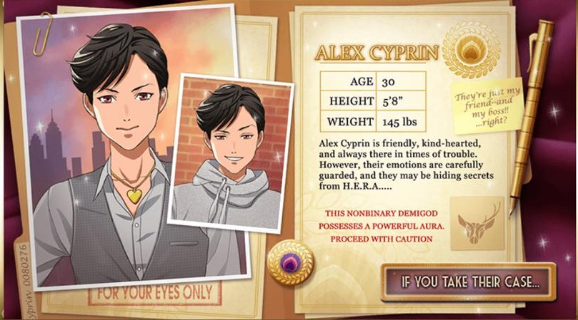 Script writer - Wrote over 400,000 words for nine seasons of free-to-play content and premium options, including the company's first trans/nonbinary love interest.Available on Android, iOS, and Amazon.