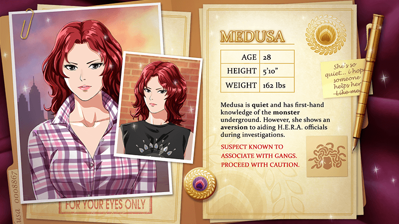 Astoria: Fate's Kiss - Astoria: Fate's Kiss is a free-to-play, narrative branching game developed by Voltage USA for the aggregate mobile app Lovestruck. In a world where Greek gods and monsters exist in the modern day, players can explore six story routes of mythological action and romance.