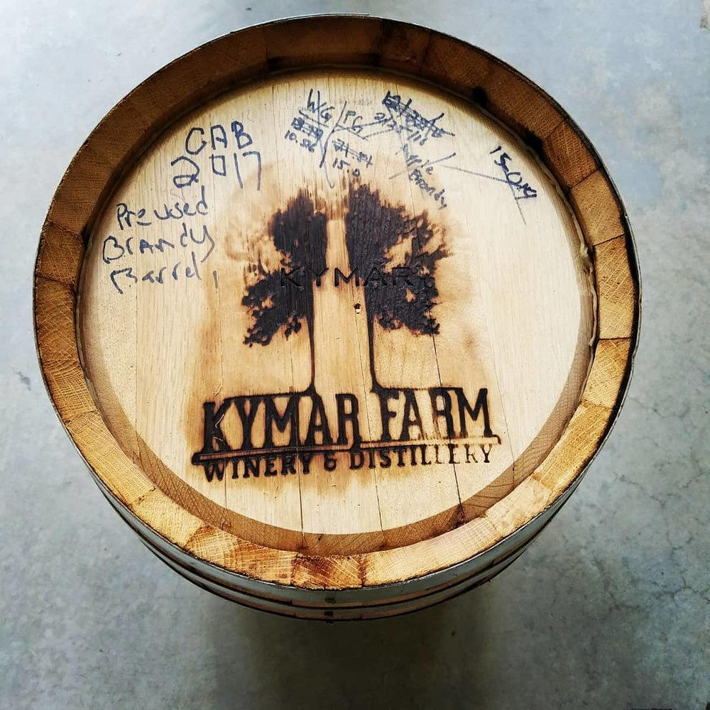 "KyMar Farm Distillery - Born from the historic soils of Schoharie County, we are the first ""licensed"" winery and distillery in the County since prohibition. Premium ingredients are direct-fire distilled for an authentic spirit. KyMar partners with local growers in hand-selecting only the best contents for fermenting, aging and bottling on site.  They look forward to sharing their quality wines and spirits with you."