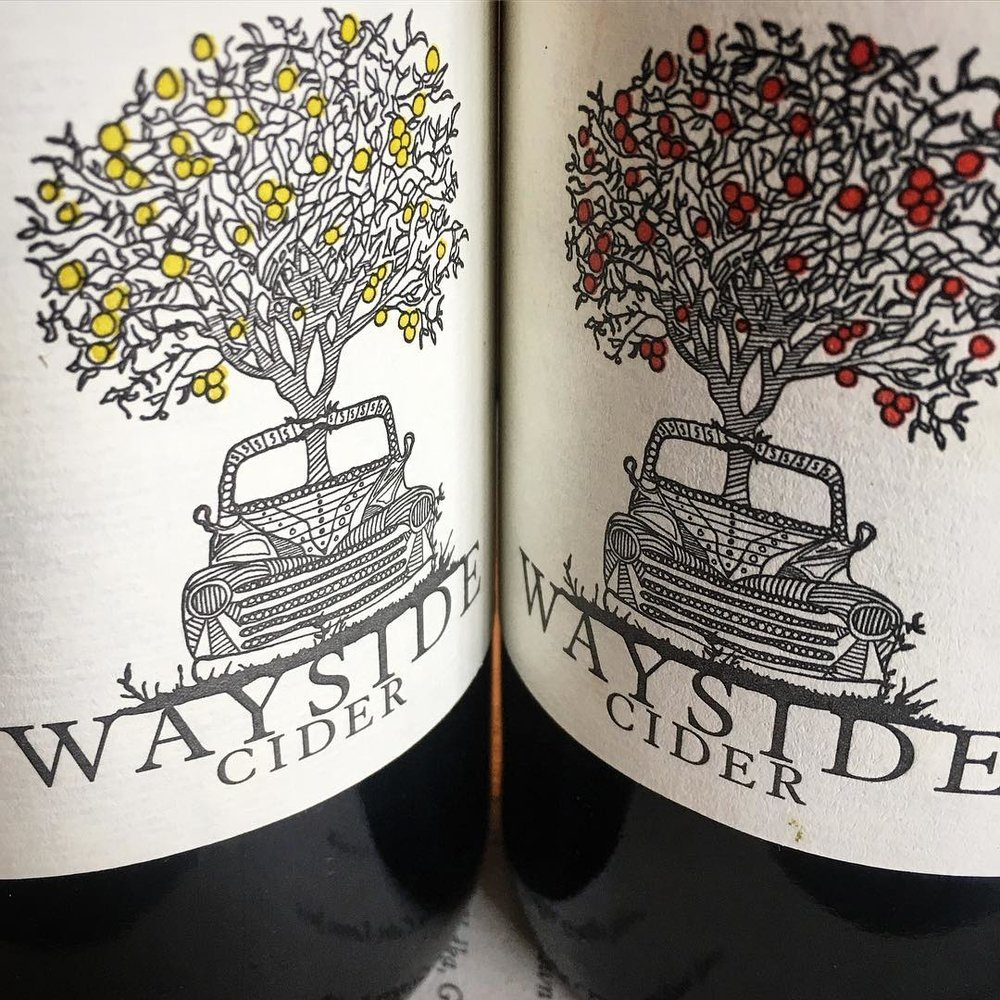 Wayside Cider - WAYSIDE CIDER  has found its home in two lovingly restored barns;  tucked behind Main Street in Andes NY.  You can not only drink and take away bottles (or cases) of their cider, but, stay awhile and eat some farm to table  food prepared by their l'academie de cuisine trained chef Siayko Skalsky.