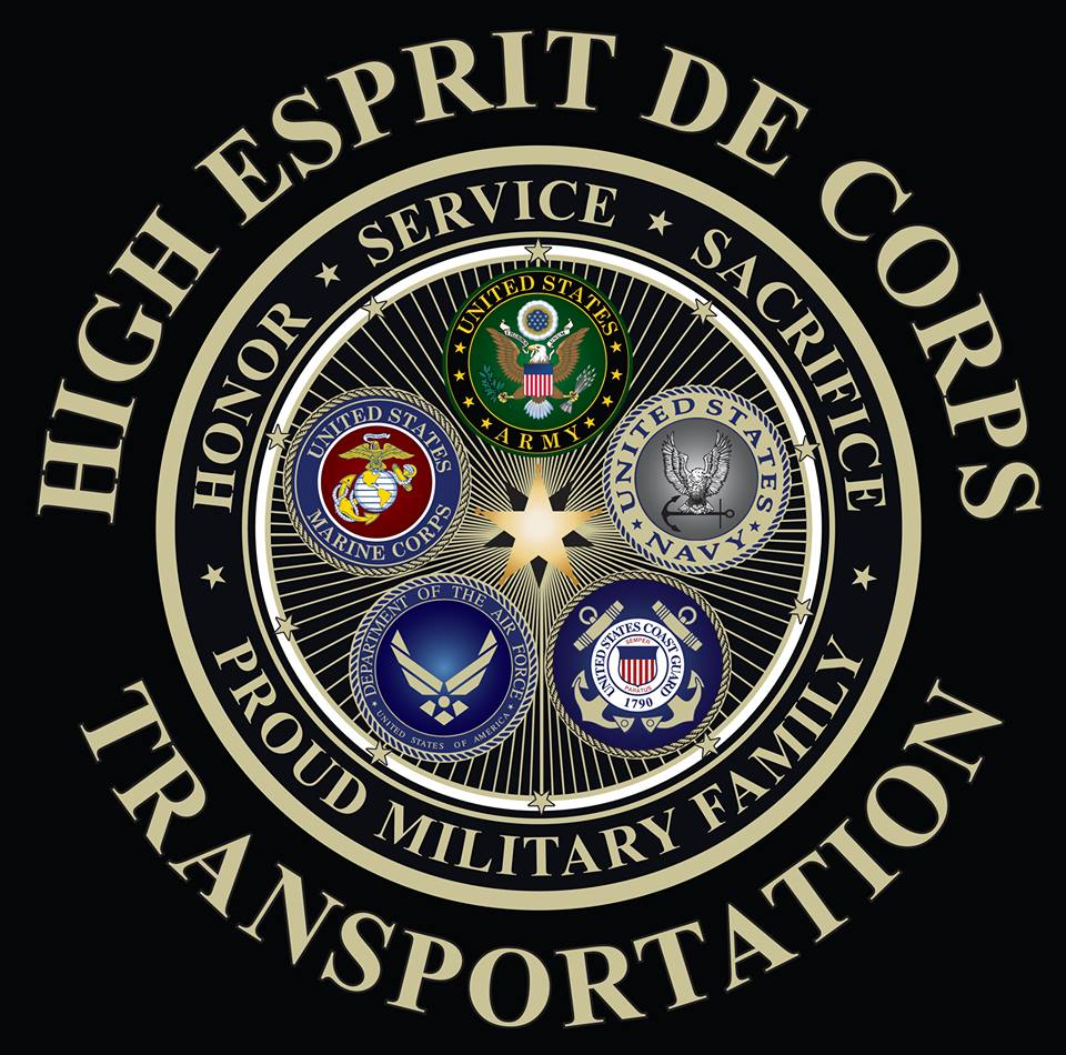 High Esprit de Corp Transportation - High Esprit de Corp Transportation is a Vetran owned business that provides 24/7 tranpsortation in the Catskill region.