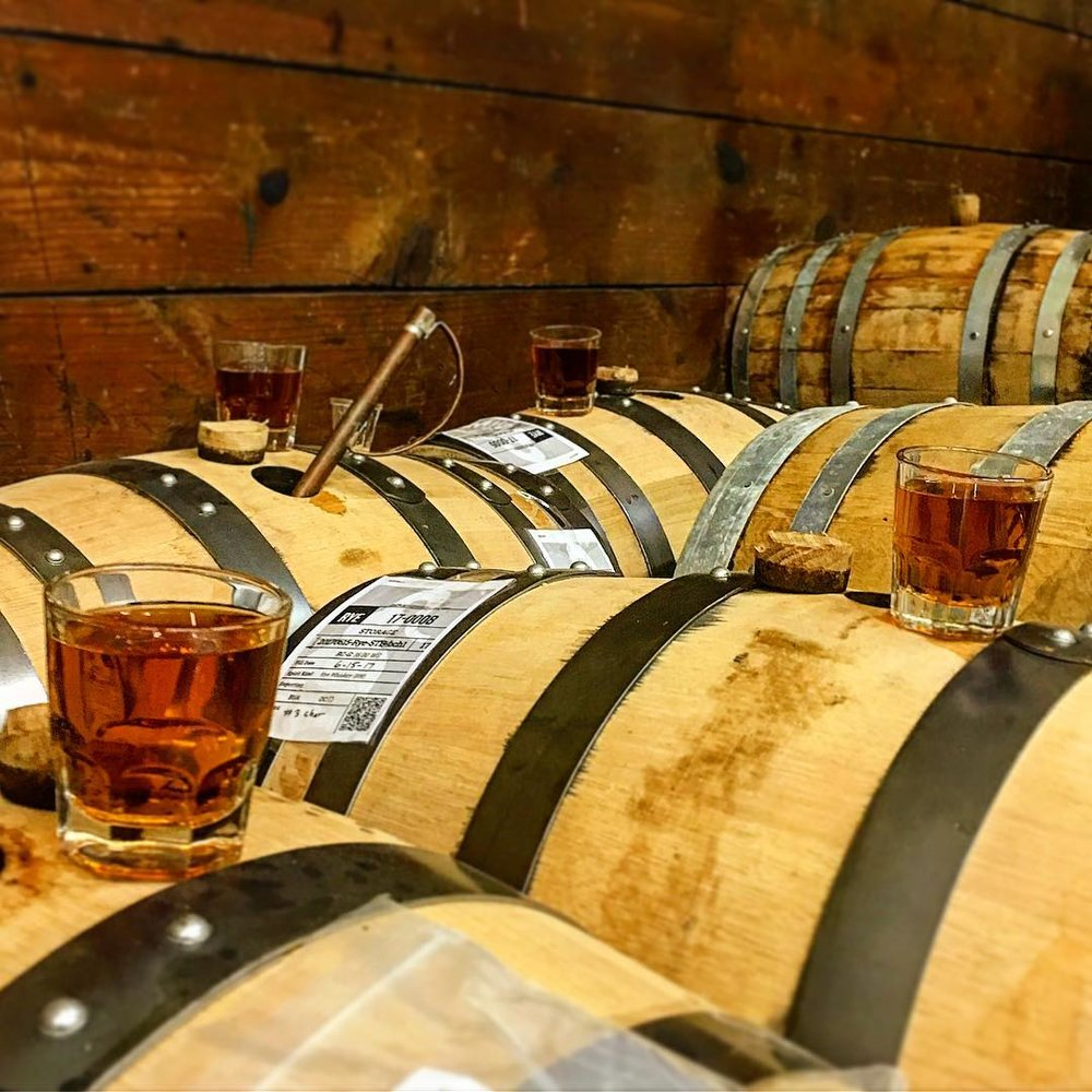 - End the day with a tour and tasting of the Union Grove Distillery.