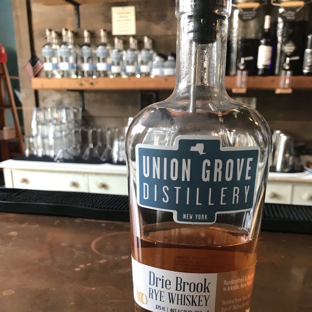 Union Grove Distillery - Taste the vodka, maple spirits and rye whiskey, then enjoy a drink while we tour the distillery.