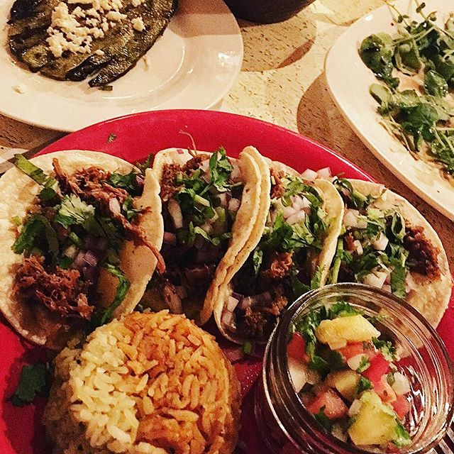 GreenAnne Farms Mexican farm-to-table dinner. -
