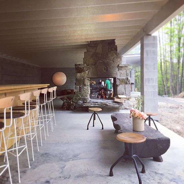 Farm-to-table dinner at Camp Here Here -