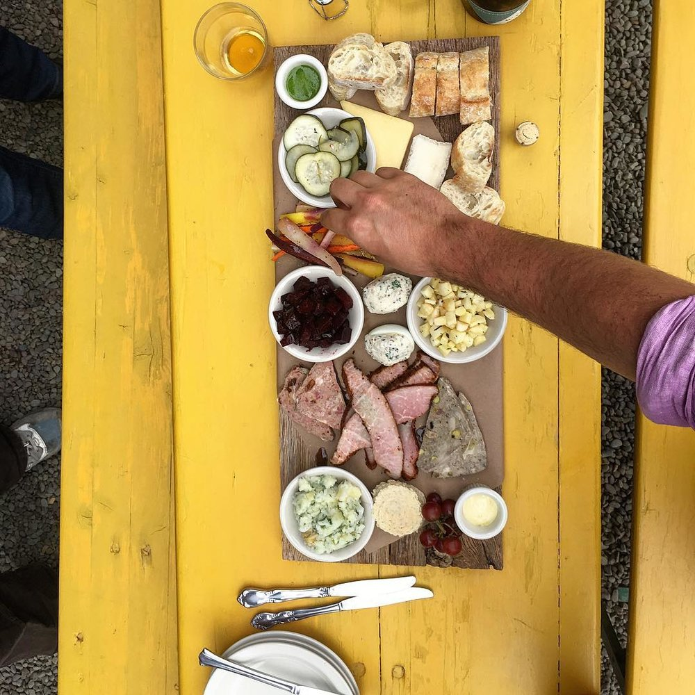 Lunch at Wayside Cider - Enjoy some incredible local treats.
