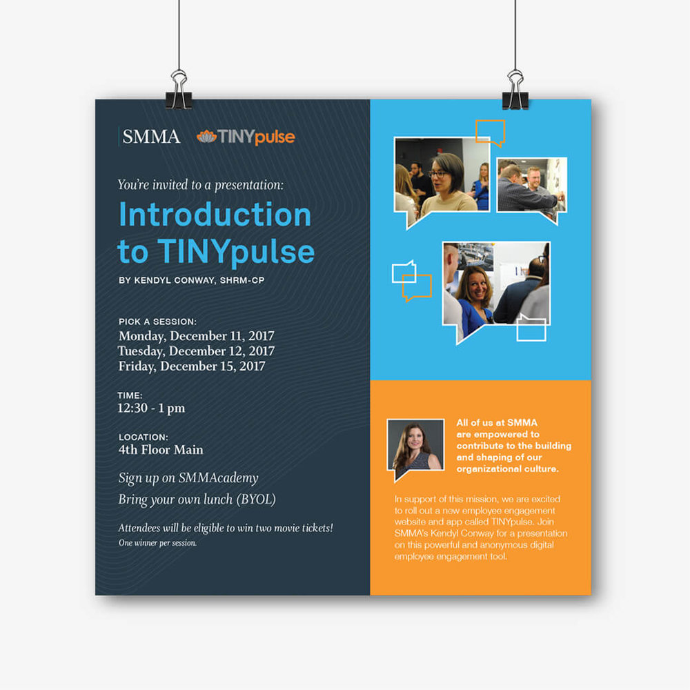 """Introduction to TINYpulse"" Poster"