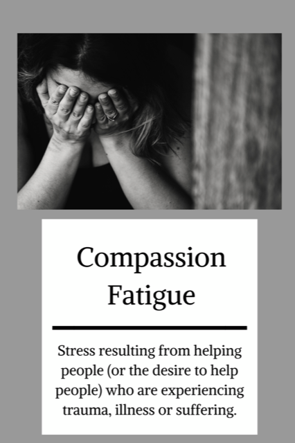 Get the 5 Hidden Dangers of Compassion Fatigue & Burnout - Fill in the information below to get your FREE workbook now