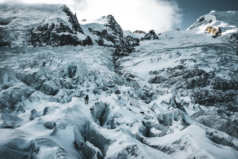 Bossons Glacier | Haute-Savoie, Frankreich